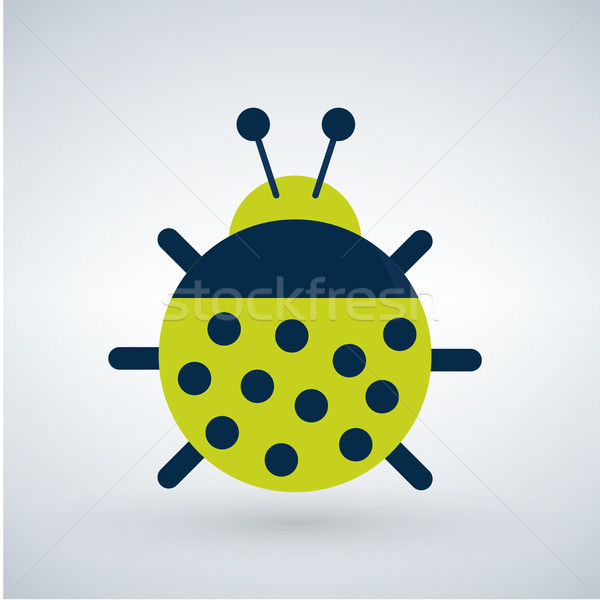 Insect or bug tor illustration, isolated on white background. Stock photo © kyryloff