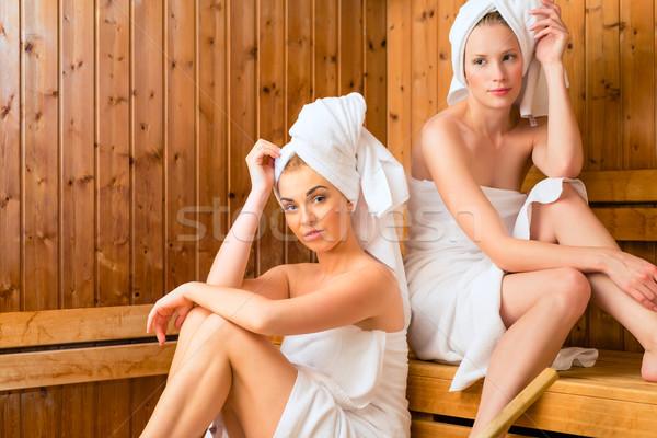 Stok fotoğraf: Sağlıklı · yaşam · spa · sauna · demleme
