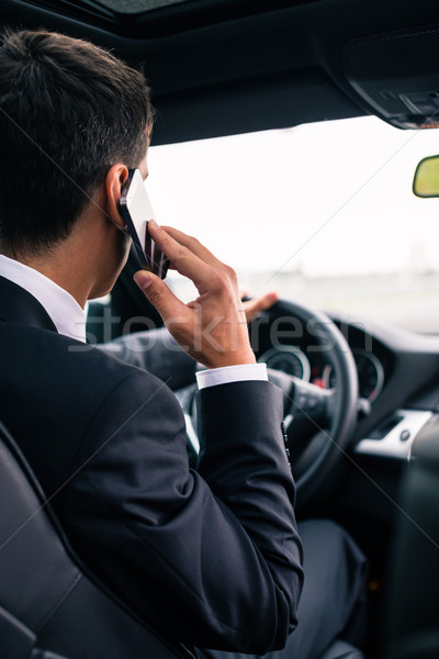 человека телефон вождения автомобилей бизнеса Сток-фото © Kzenon