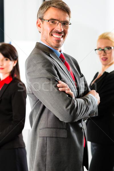 Business gruppo ufficio di successo squadra Foto d'archivio © Kzenon
