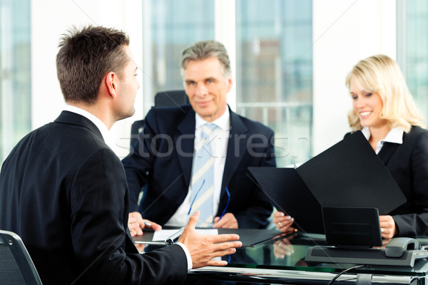 Business - Job Interview Stock photo © Kzenon