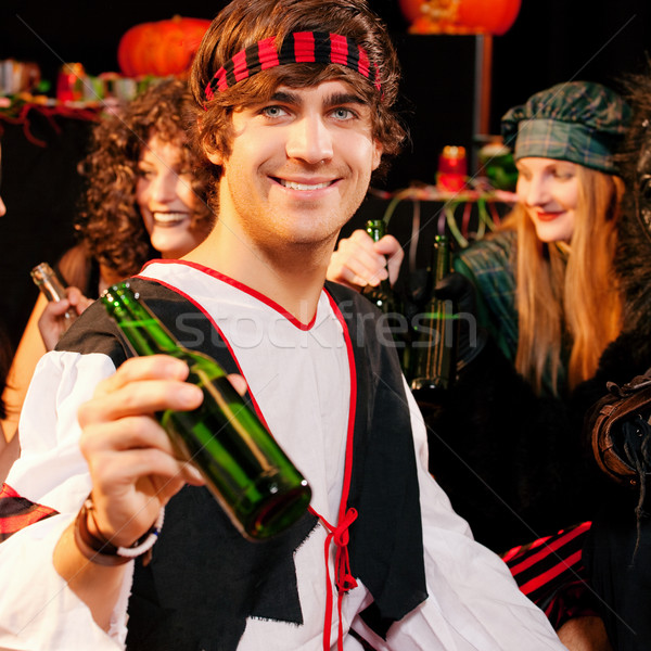Party for carnival or Halloween Stock photo © Kzenon