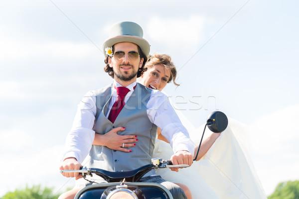пару вождения Motor Сток-фото © Kzenon
