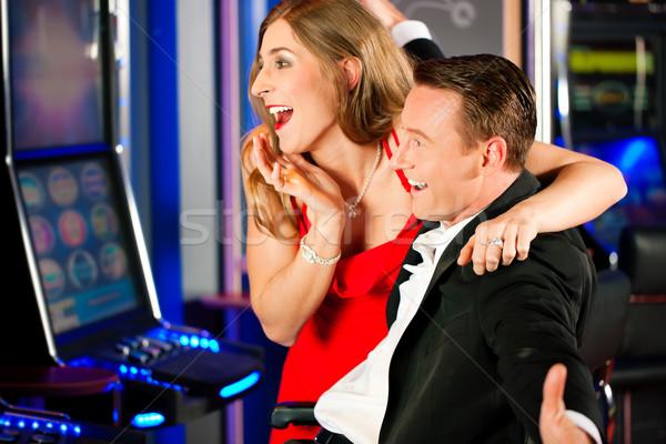 Сток-фото: пару · казино · человека · костюм · клуба