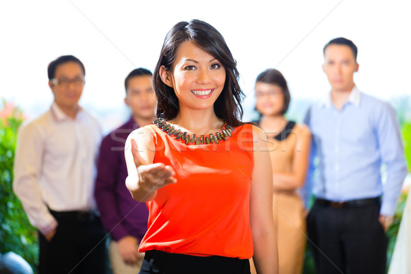 People of creative agency or advertising agency Stock photo © Kzenon