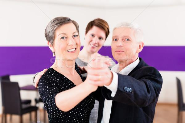 Сток-фото: Dance · инструктор · женщину · человека · фитнес