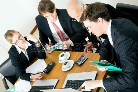 Discussing proposals Stock photo © Kzenon