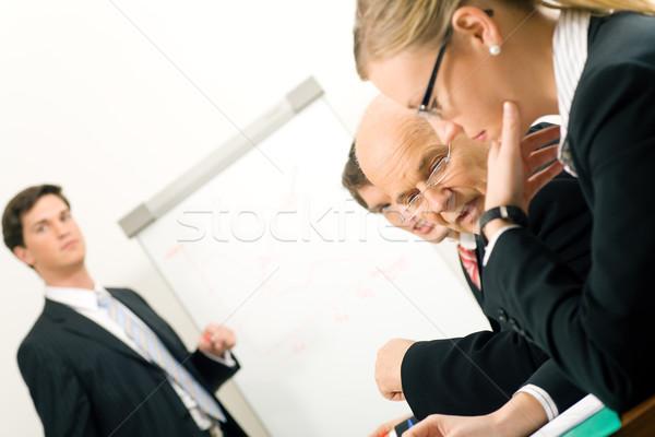 Business Presentation Stock photo © Kzenon