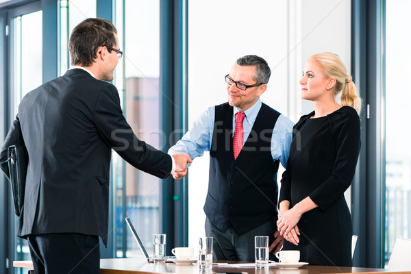 Business - Job Interview and hiring Stock photo © Kzenon