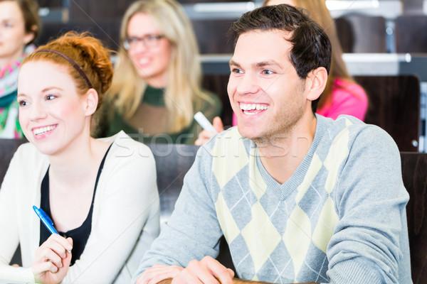 студентов колледжей обучения урок отмечает Сток-фото © Kzenon