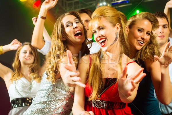 Party persone dancing discoteca club giovani Foto d'archivio © Kzenon