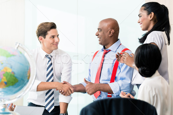 Business handshake in meeting  Stock photo © Kzenon