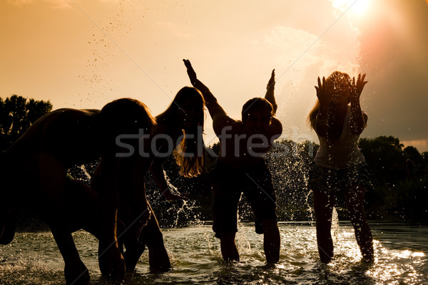 Stock photo: Carefree summer