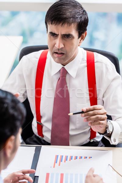Supervisor profesional edificio de oficinas indio negocios hombre Foto stock © Kzenon