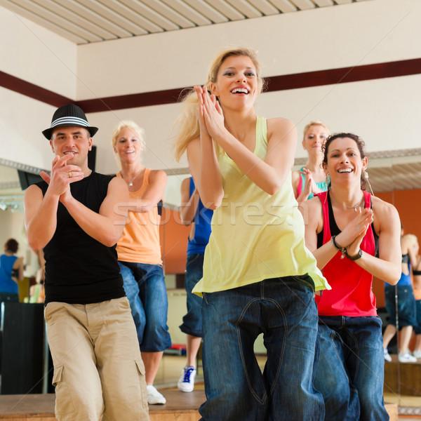 若者 ダンス スタジオ ジム スポーツ ストックフォト © Kzenon
