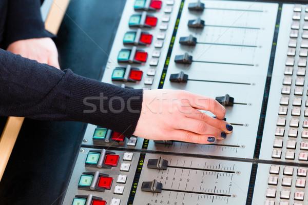 Radio estación aire Hosting mostrar vivir Foto stock © Kzenon