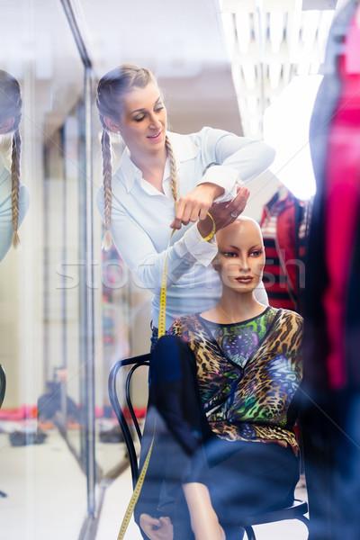 Janela trabalhando compras promoção novo Foto stock © Kzenon