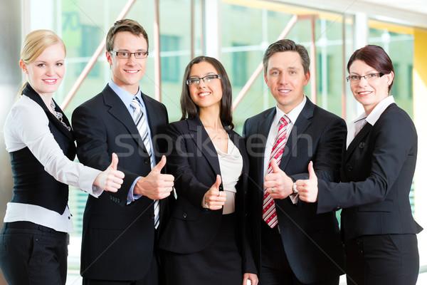 Business gruppo ufficio posa foto Foto d'archivio © Kzenon