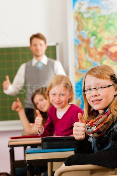 éducation enseignants école enseignement jeunes forme Photo stock © Kzenon