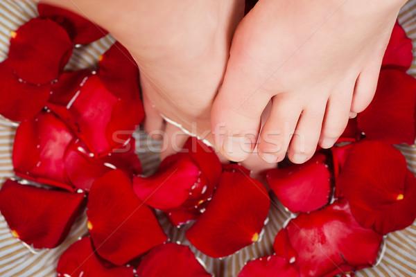 Feet wellness Stock photo © Kzenon