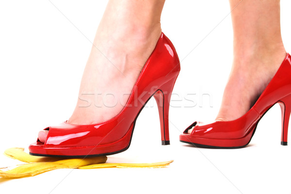 high heels and banana Stock photo © Kzenon