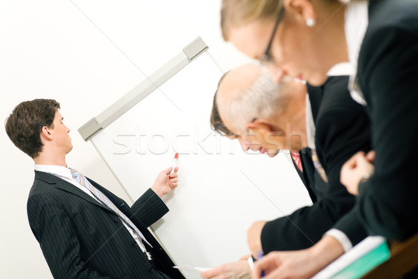 Business Presentation Stock photo © Kzenon