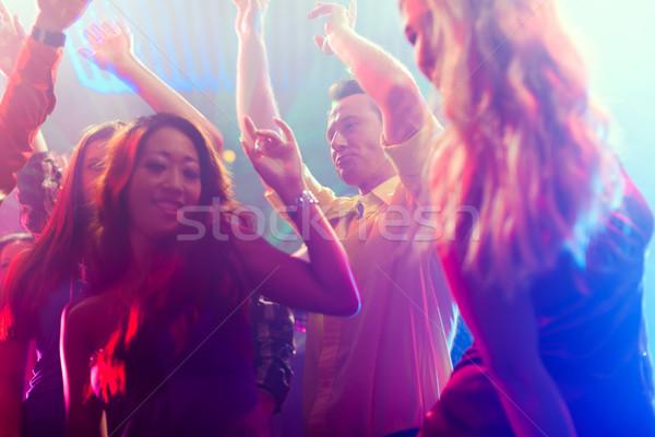 вечеринка люди танцы дискотеку клуба группа Сток-фото © Kzenon