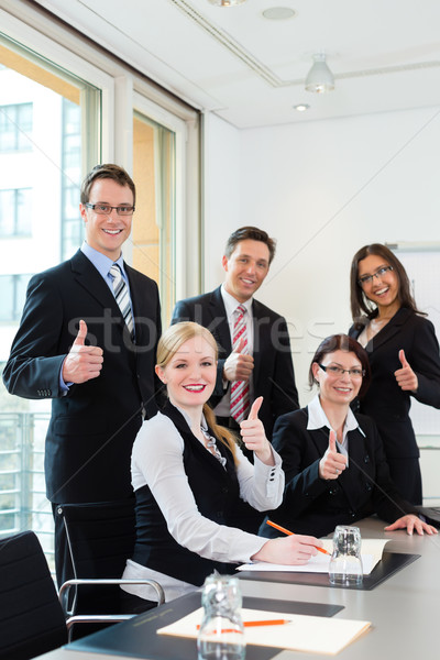 Działalności zespołu spotkanie biuro warsztaty Zdjęcia stock © Kzenon