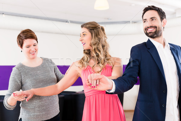 Сток-фото: инструктор · Dance · школы · пару · человека · женщину
