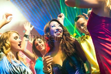 Flirten in der disco