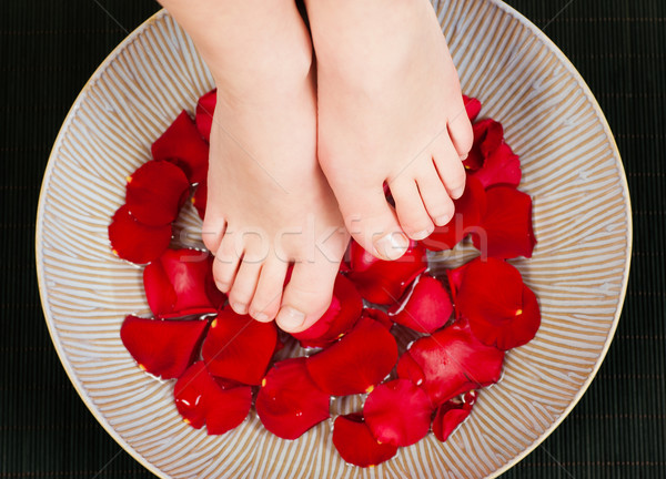 Feet wellness Stock photo © Kzenon