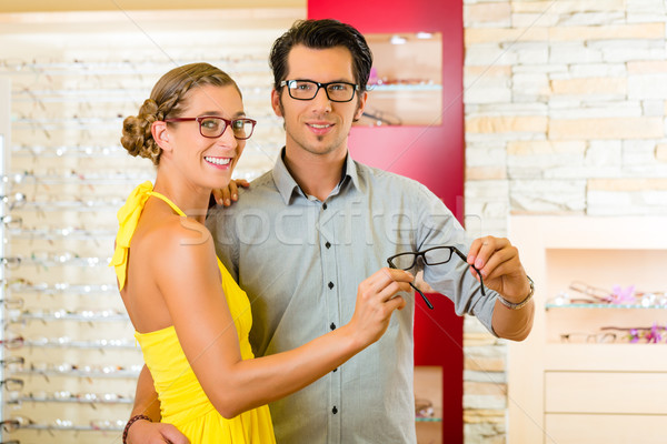 Opticien bril store naar business Stockfoto © Kzenon