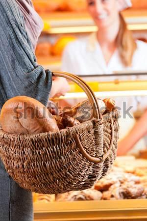 écran boulangerie fraîches pain savoureux Photo stock © Kzenon