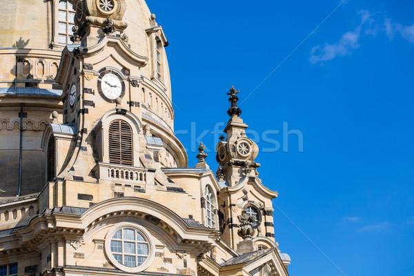 ドレスデン 建物 青 アーキテクチャ 晴れた ランドマーク ストックフォト © Kzenon