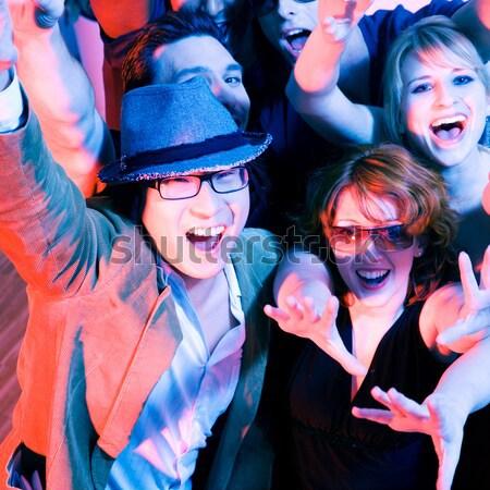 Karaoke fiesta personas club similar ubicación Foto stock © Kzenon