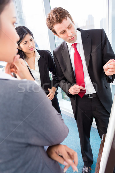 Business team drafting in strategy meeting Stock photo © Kzenon