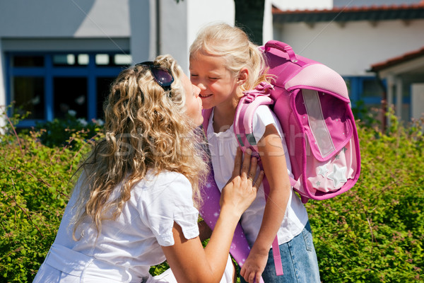 First day at school Stock photo © Kzenon