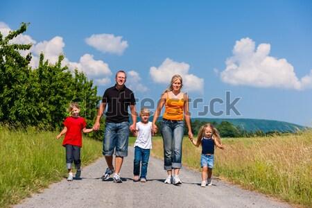 Walking down that path Stock photo © Kzenon