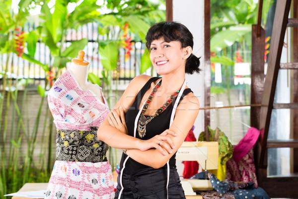 Mode designer travail maison design Photo stock © Kzenon