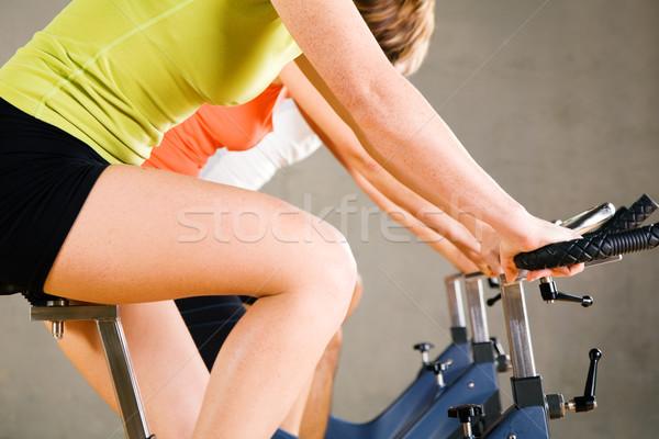 Drie mensen vrouw vrouwen sport fitness Stockfoto © Kzenon
