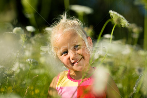 Girl in summer Stock photo © Kzenon