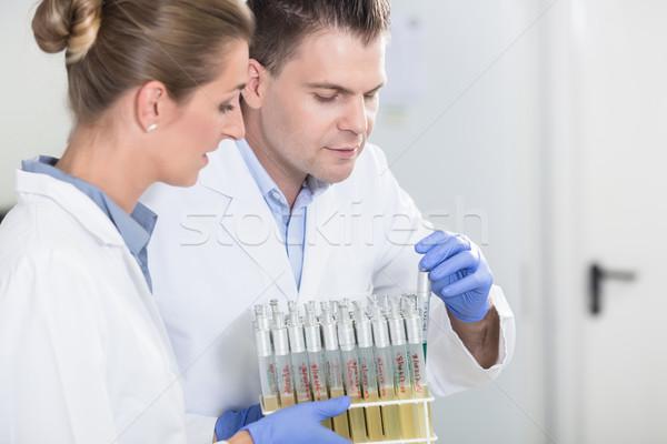 Laboratorio investigación laboratorio científico prueba Foto stock © Kzenon
