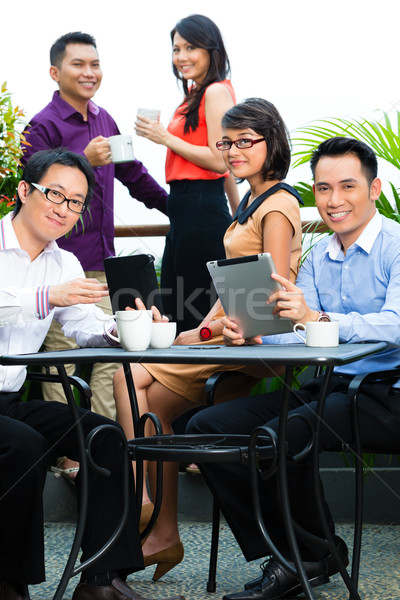 People of Asian creative or advertising agency Stock photo © Kzenon