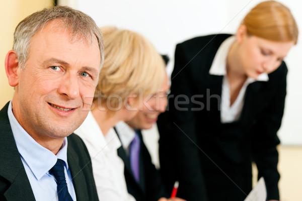 бизнес-команды рабочих заседание малый бизнес команда служба Сток-фото © Kzenon