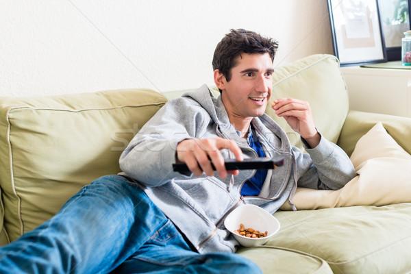 Komik oynama birlikte video oyunu konsol Stok fotoğraf © Kzenon