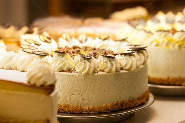 Torte in a bakery Stock photo © Kzenon