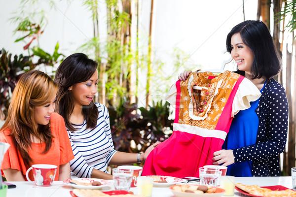 Asian are fashion conscious Stock photo © Kzenon
