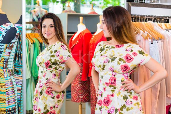 Foto stock: Compras · moda · departamento · tienda