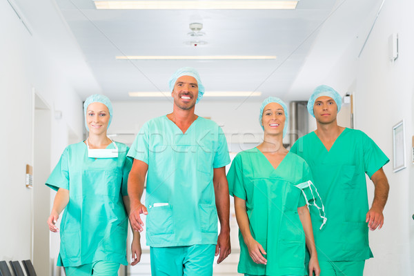 Surgeons in Hospital or clinic as team Stock photo © Kzenon