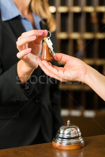 受付 ゲスト ホテル フロント デスク ルーム ストックフォト © Kzenon